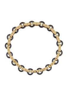 Roberto Coin Pois Moi 18k Yellow Gold & Titanium O-Ring Bracelet