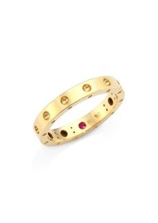 Roberto Coin Pois Moi 18K Yellow Gold Band Ring