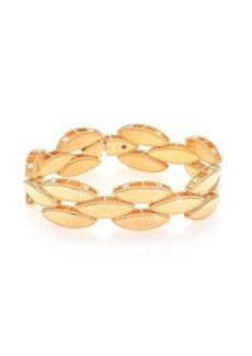 Roberto Coin Retro 18K Yellow Gold Narrow Bangle Bracelet