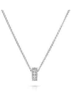 Roberto Coin Roman Barocco Diamond Pendant Necklace