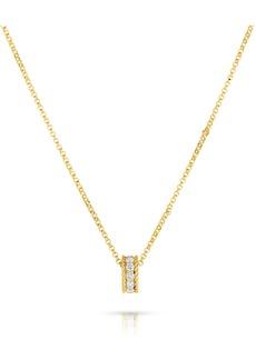 Roberto Coin Roman Barocco Diamond Pendant Necklace