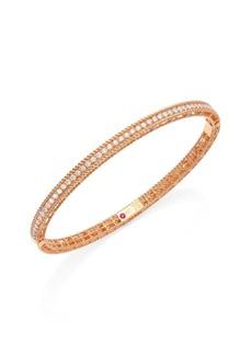Roberto Coin Symphony Braided Diamond & 18K Rose Gold Bracelet