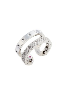 Roberto Coin Symphony Double Pois Moi Diamond Ring