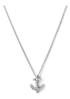 Roberto Coin 'Tiny Treasures' Anchor Charm Pendant Necklace