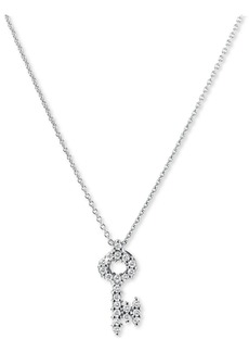 Roberto Coin 'Tiny Treasures' Diamond Baby Key Necklace