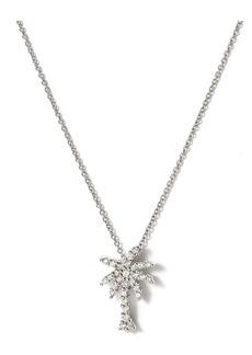 Roberto Coin 'Tiny Treasures' Palm Tree Diamond Pendant