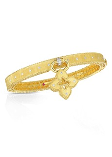 Roberto Coin Venetian Princess Diamond Bangle