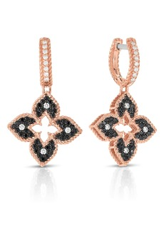 Roberto Coin Venetian Princess Diamond Drop Earrings