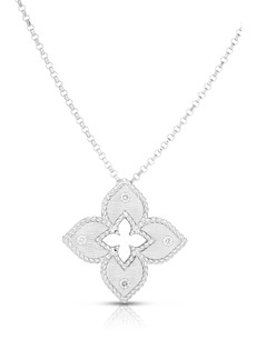 Roberto Coin Venetian Princess Diamond Pendant Necklace