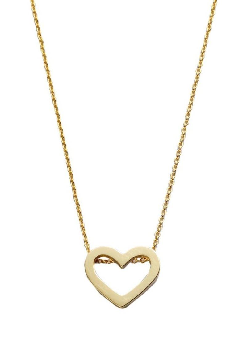 Roberto Coin Tiny Treasures 18K Yellow Gold Heart Pendant Necklace