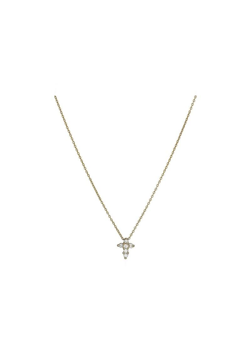 Roberto Coin Tiny Treasures Baby Cross Pendant With Diamonds