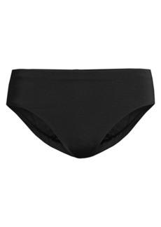 Robin Piccone Ava High-Waist Bikini Bottoms