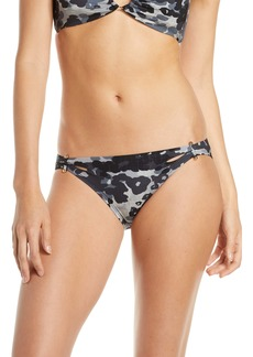 Robin Piccone Eden Side Cut Camo Bikini Bottoms