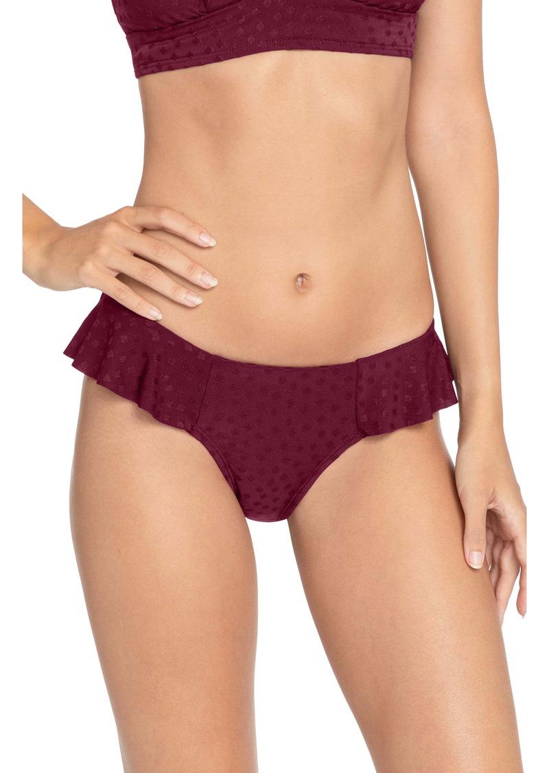 Robin Piccone Juliana Ruffle Bikini Bottoms