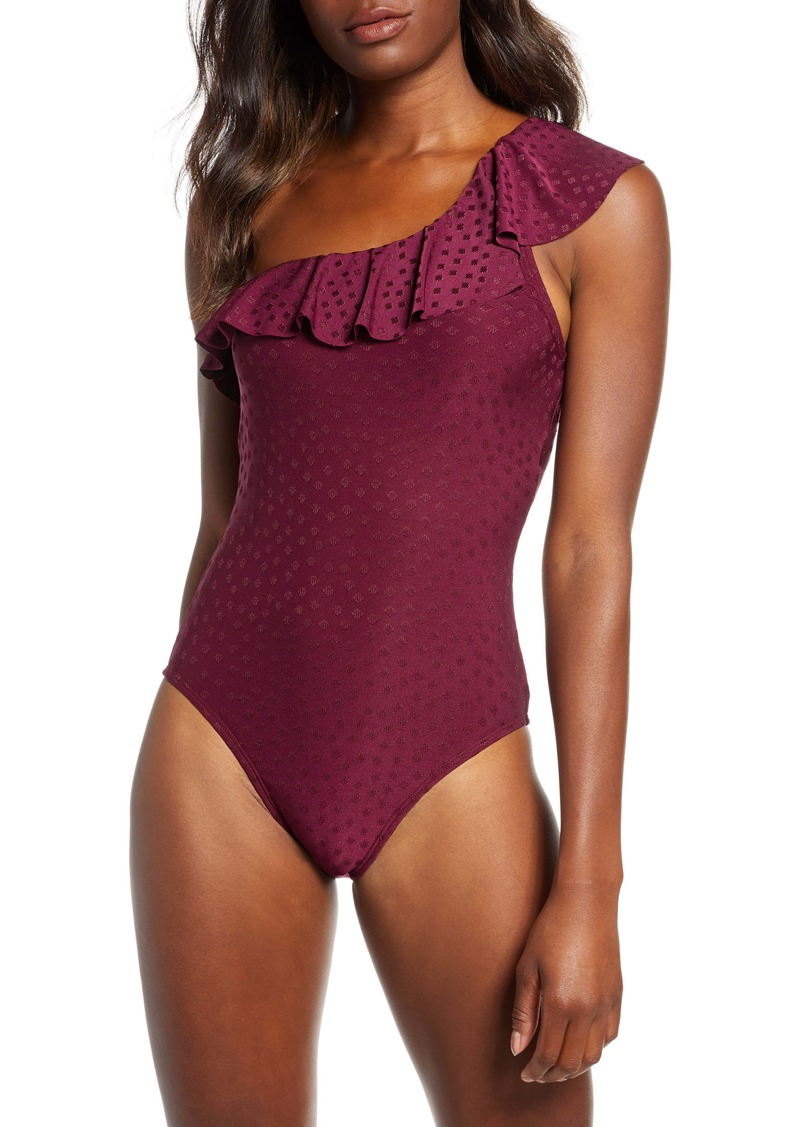 Robin Piccone Julianna One-Shoulder One-Piece Swimsuit