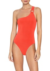 Robin Piccone Kate One-Shoulder One-Piece Swimsuit