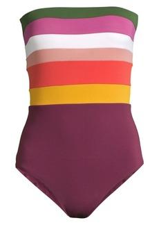 Robin Piccone Suzie Bandeau One-Piece Swimsuit