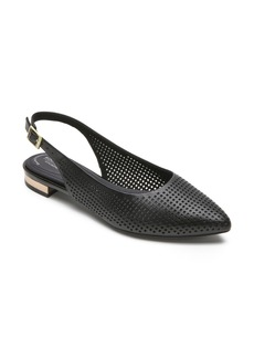 Rockport Adelyn Perforated Slingback Flat (Women)