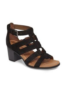 Rockport Cobb Hill Hattie Block Heel Gladiator Sandal (Women)