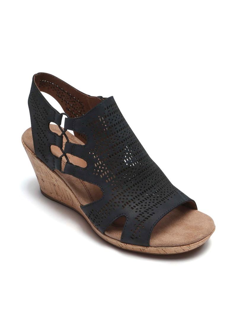 6231cddf5c13 Rockport Rockport Cobb Hill Janna Perforated Wedge Sandal (Women ...