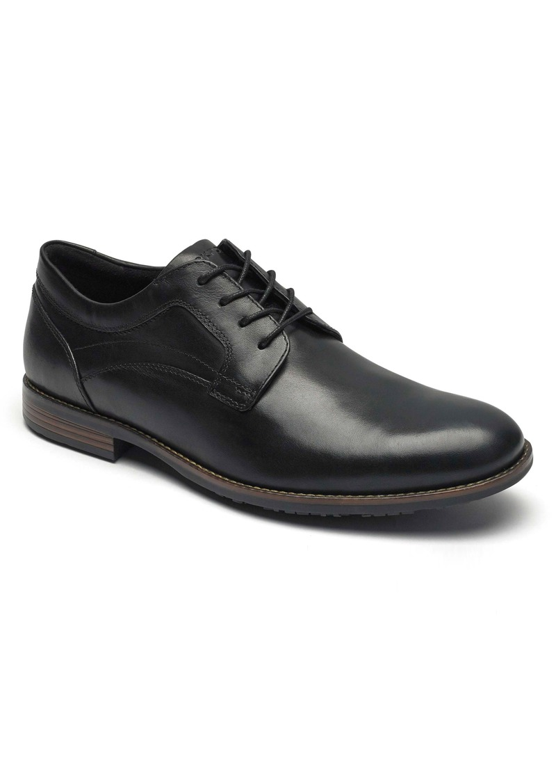 Rockport Dustyn Waterproof Plain Toe Derby (Men)