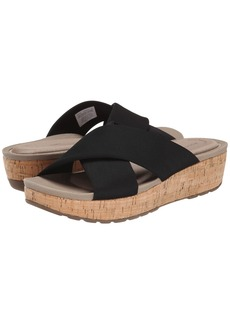 Rockport Land Boulevard Cross Slide Flatform Sandal
