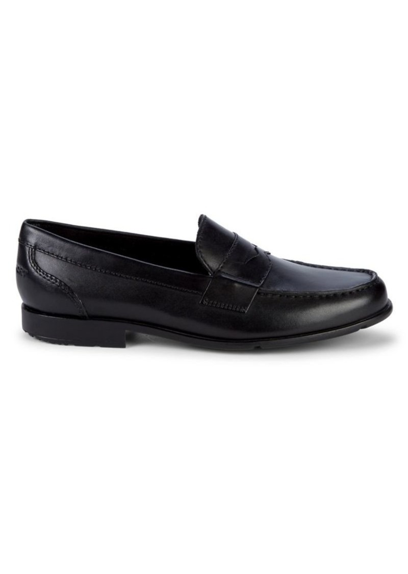 Rockport Leather Slip-On Penny Loafers