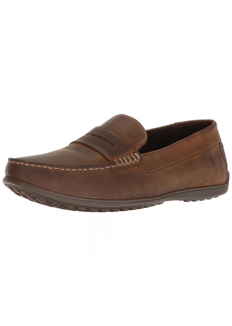 Rockport Men's Bayley Penny Shoe camel leather 11.5 M US