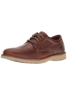 Rockport Men's Cabot Plain Toe Shoe brown leather 9.5 M US