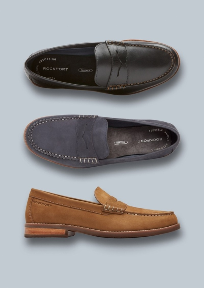 39a03cc50bc On Sale today! Rockport Rockport Men s Cayleb Penny Loafers Men s Shoes