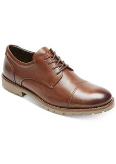 Rockport Men's Channer Cap-Toe Bluchers Men's Shoes