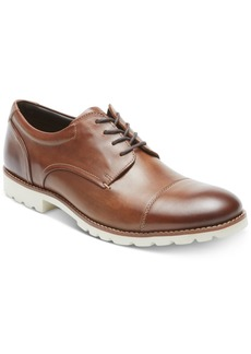 Rockport Men's Channer Cap-Toe Bluchers Men's Shoes