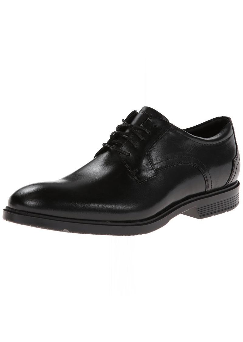 Rockport Men's CITY SMART PLAIN TOE Shoe black leather 16 M US