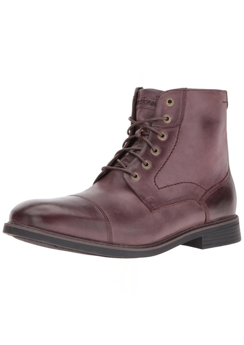 Rockport Men's Classic Break Cap Toe Zip Chukka Boot- -