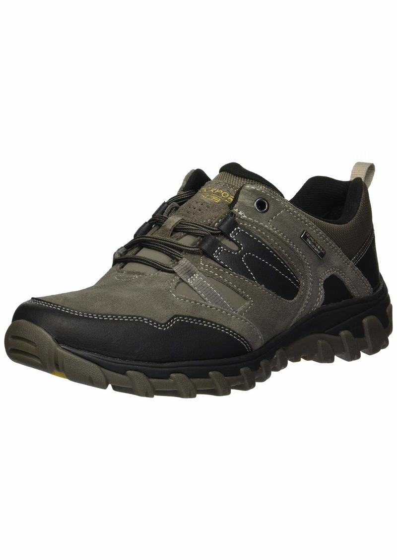 Rockport Men's Cold Spring Plus Low Tie Shoe breen  M US
