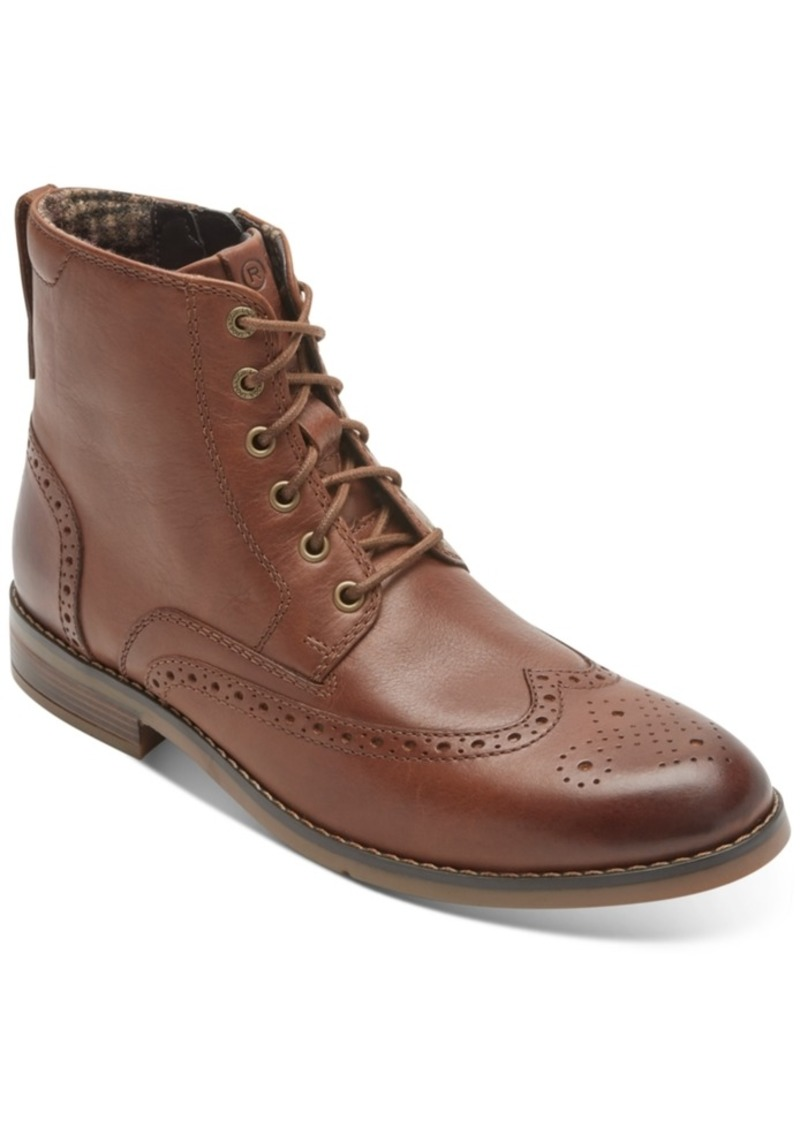 Rockport Men's Colden Wingtip Boots Men's Shoes