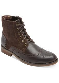 Rockport Men's Colden Wingtip Dress Casual Boots Men's Shoes