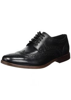 Rockport Men's Derby Room Wingtip Shoe black 14 M US
