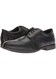 Rockport Men's Dustyn Wing Tip Shoe black 9 M US