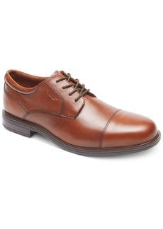 Rockport Men's Essential Details Ii Cap Toe Waterproof Oxford Men's Shoes