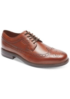 Rockport Men's Essential Details Ii Wing Tip Waterproof Oxford Men's Shoes