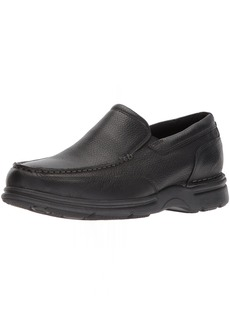 Rockport Men's Eureka Plus Slip On Oxford black  M US