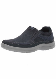 Rockport Men's Get Your Kicks Double Gore Mudguard Slip On Oxford New Dress BL 14 W US