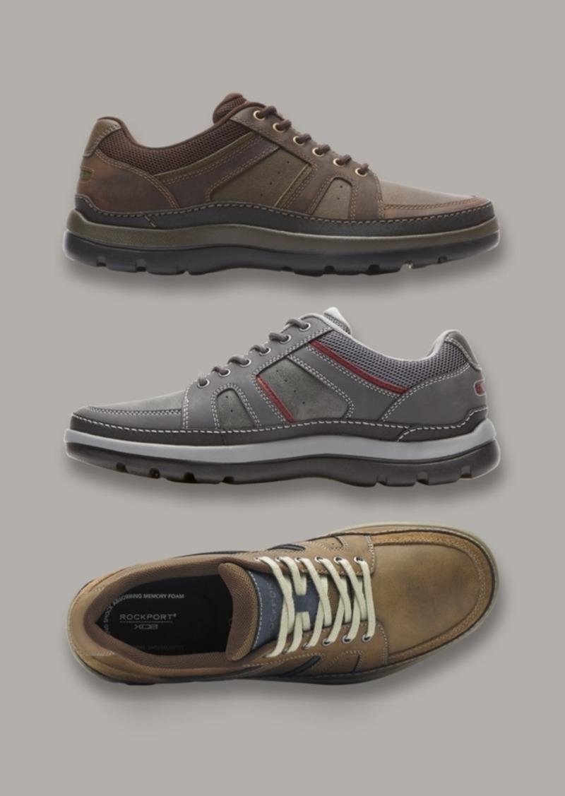 Rockport Men's Get Your Kicks Mudguard Blucher Casual Shoes Men's Shoes