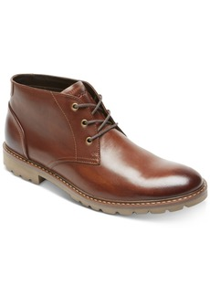 Rockport Men's Leather Sharp & Ready Chukkas Men's Shoes