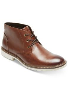 Rockport Men's Leather Sharp & Ready Chukkas Men's Shoes