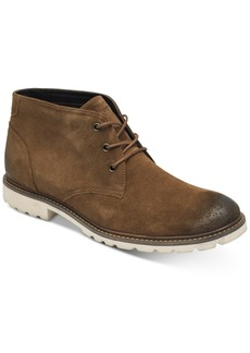 Rockport Men's Leather Sharp & Ready Suede Chukka Men's Shoes