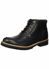 Rockport Men's Marshall Rugged Moc Toe Boot black  M US