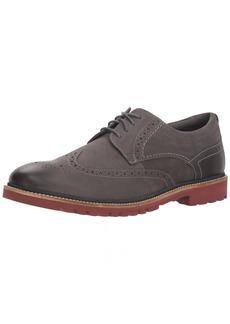 Rockport Men's Marshall Wing Tip Shoe castlerock grey 9 M US