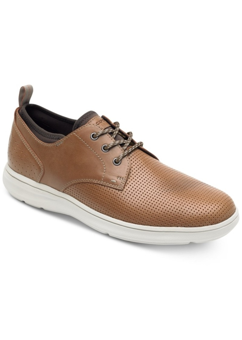 Rockport Men's Plain-Toe Zaden Oxfords Men's Shoes